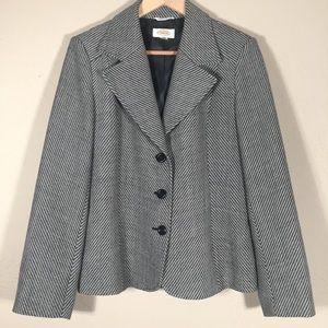 Talbots blazer 100% wool ext